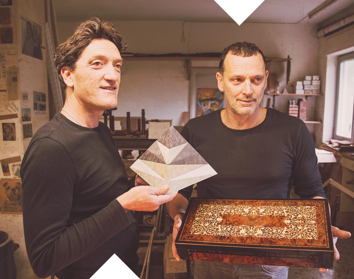 Franco and Roberto Stinga, Sorrento